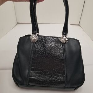Brighton Black Shoulder Bag 3 compartments C449273